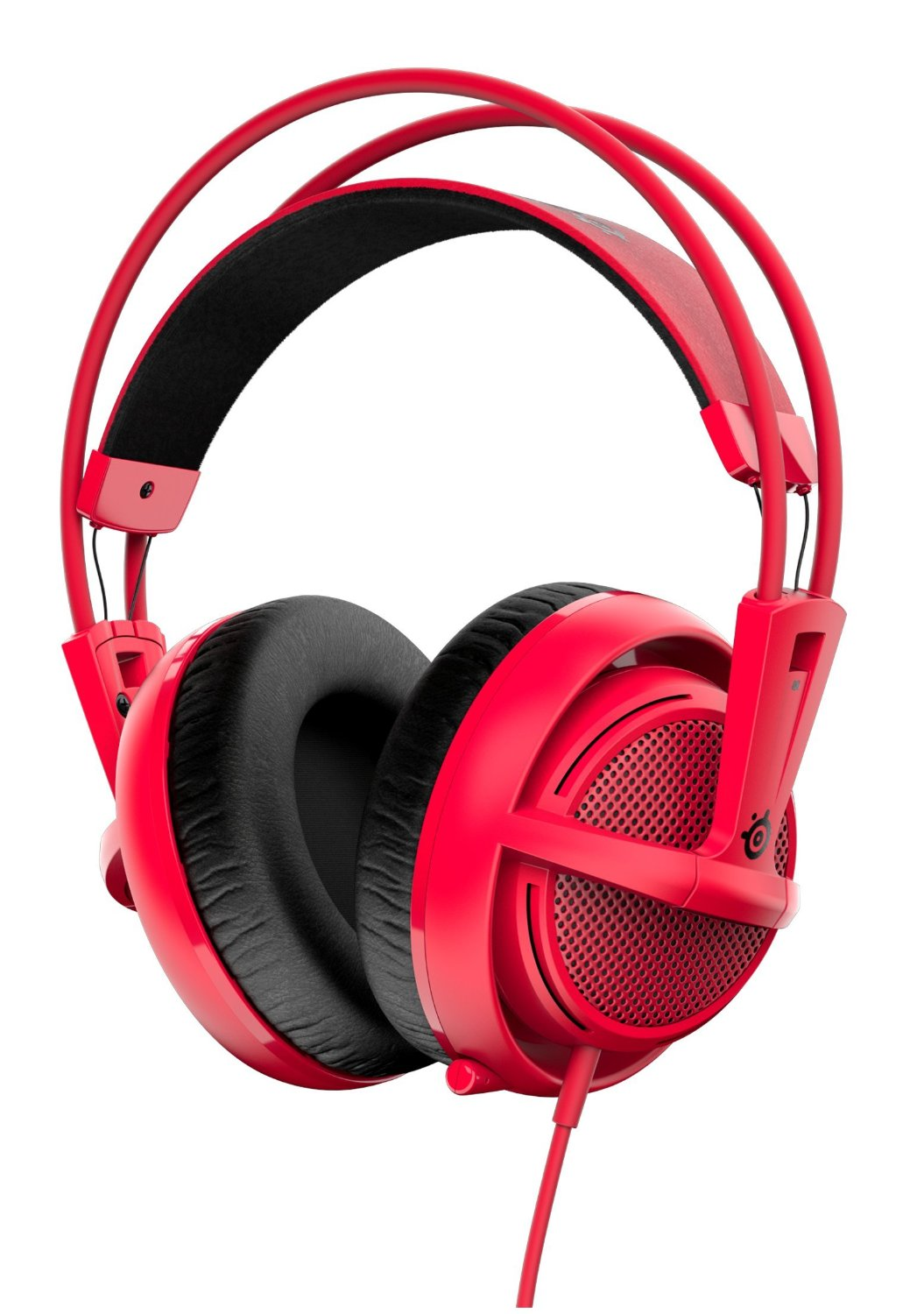 SteelSeries Siberia 200 Gaming Headset - Forged Red